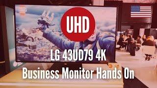 lg 43ud79 4k business monitor hands on