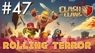 Clash Of Clans!!!Best Way To Defeat Rolling Terror!!!Easy!!