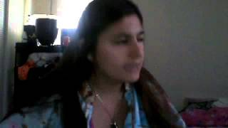 Me Singing where does  My heart beat now (cover)