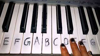 Pal Jalebi Arijit Singh Shreya Ghoshal Easy piano tutorial Varun Mitra Rhea Chakraborty