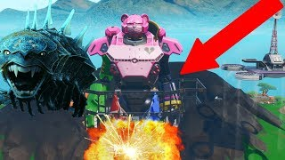 ROBOT vs MONSTER EVENT RIGHT NOW! // Use Code: ooShven (Fortnite Battle Royale Live)
