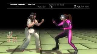Dead or Alive 5 Last Round (PC) - Hitomi movelist training