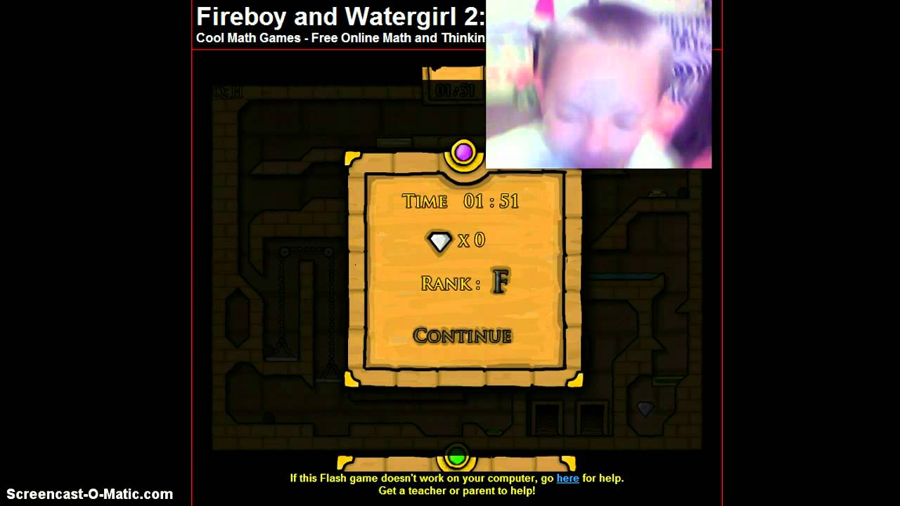 Cool Math Games Fireboy and Watergirl Light Temple 2