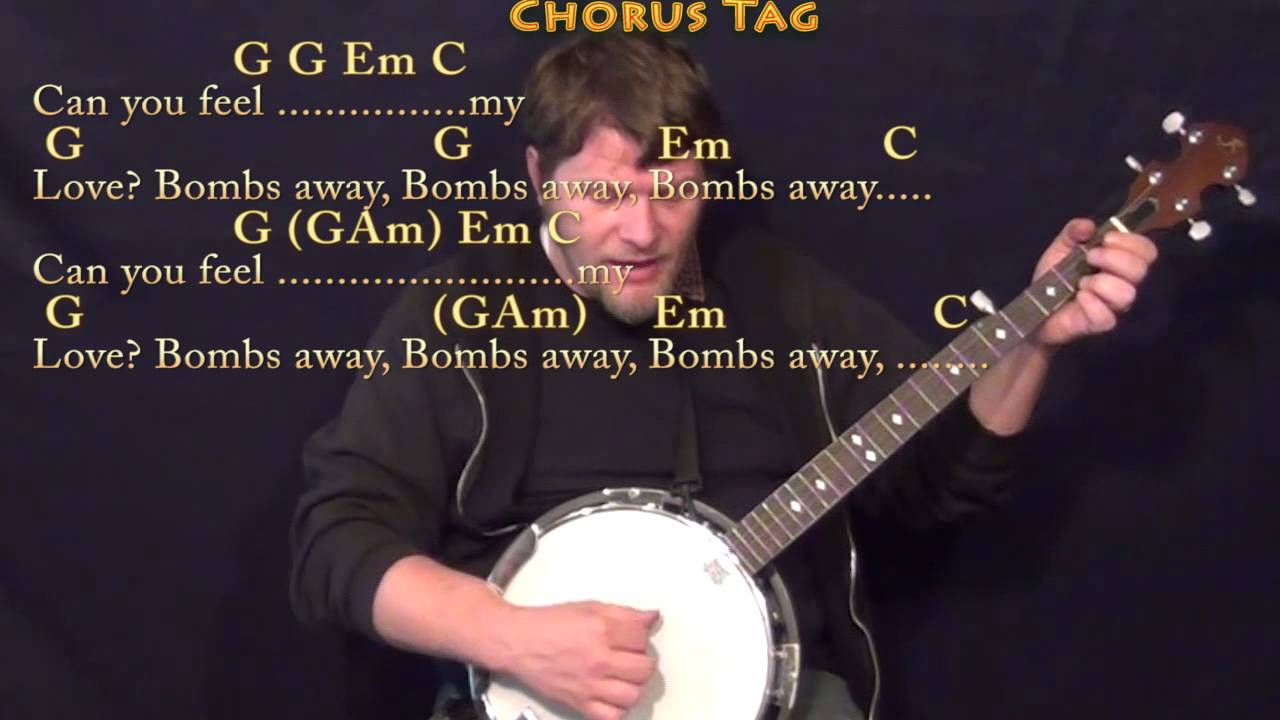 Geronimo Sheppard Banjo Cover Lesson In G With Chordslyrics Youtube