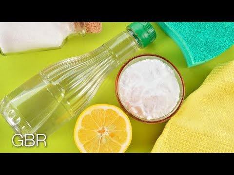 Cleaning Your Grout With Vinegar And Baking Soda Funnydog Tv