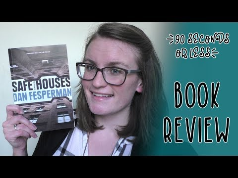 [90 Seconds or Less] Book Review - Safe Houses by Dan Fesperman