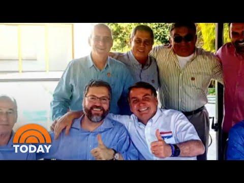 Brazilian President Jair Bolsonaro Tests Positive For Coronavirus | TODAY