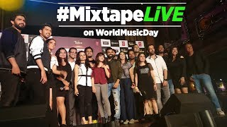 Youtube Live: Mixtape LIVE With T-Series Mixtape Artists   World Music Day 2017