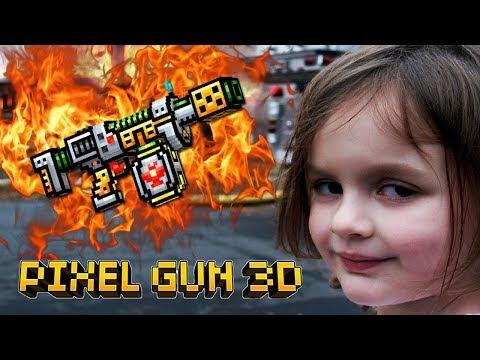 Pixel Gun 3D - Аркадный Огнемет 🔥 ARCADE FLAMETHROWER (398 серия)