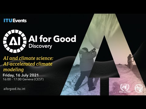 AI-Accelerated Climate Modeling | Tapio Schneider at Caltech | AI FOR GOOD DISCOVERY