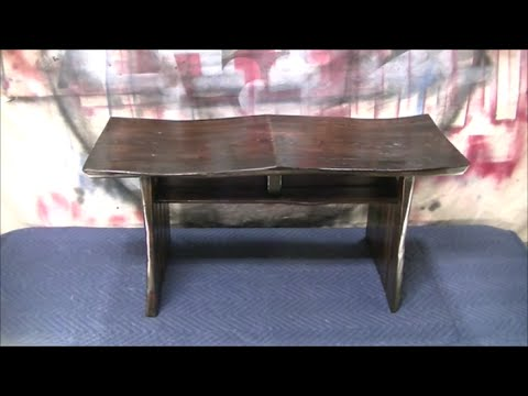 Japanese Style Bench From Pallet Wood Youtube