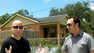 Brendon Brown and Matt Andrews talking Section 8 Investment Property in Tampa, Fl