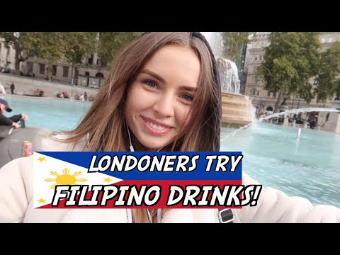 DO LONDONERS LIKE FILIPINO DRINKS?
