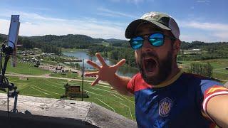 LIVE SPARTAN RACE: West Virginia, 2018 (preview of course) - Rabbit cam