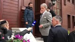 Ющенко пояснює російським ЗМІ про Томос