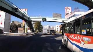 熊谷市 市街  国道17号 (中山道)佐谷田 ⇒ 熊谷警察署 (407号)間   【車載動画】