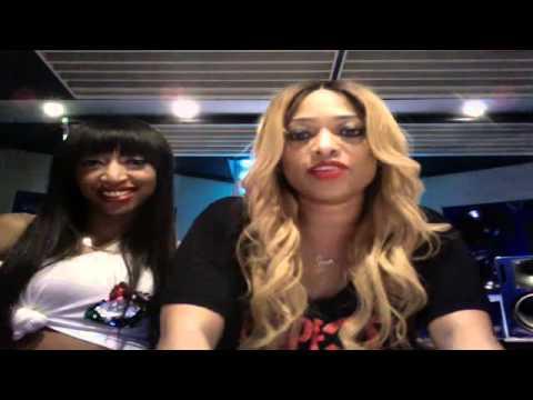 Trina LIVE on Ustream (December 18, 2012)