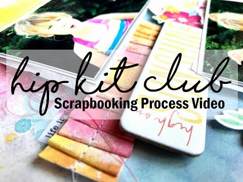 Scrapbooking Process #429 Hip Kit Club / High on Sunshine