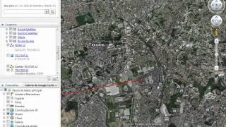 POSIÇÃO SATELITE Telstar 12 at 15.0°W  GOOGLE EARTH