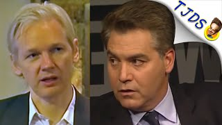 "Jim Acosta Destroyed Over Julian Assange At ""Newseum"""