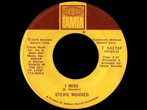 Stevie Wonder ~ I Wish 1976 Funky Purrfection Version