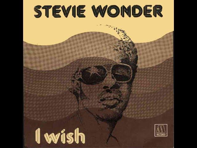 Stevie Wonder ~ I Wish 1976 Funky Purrfection Version