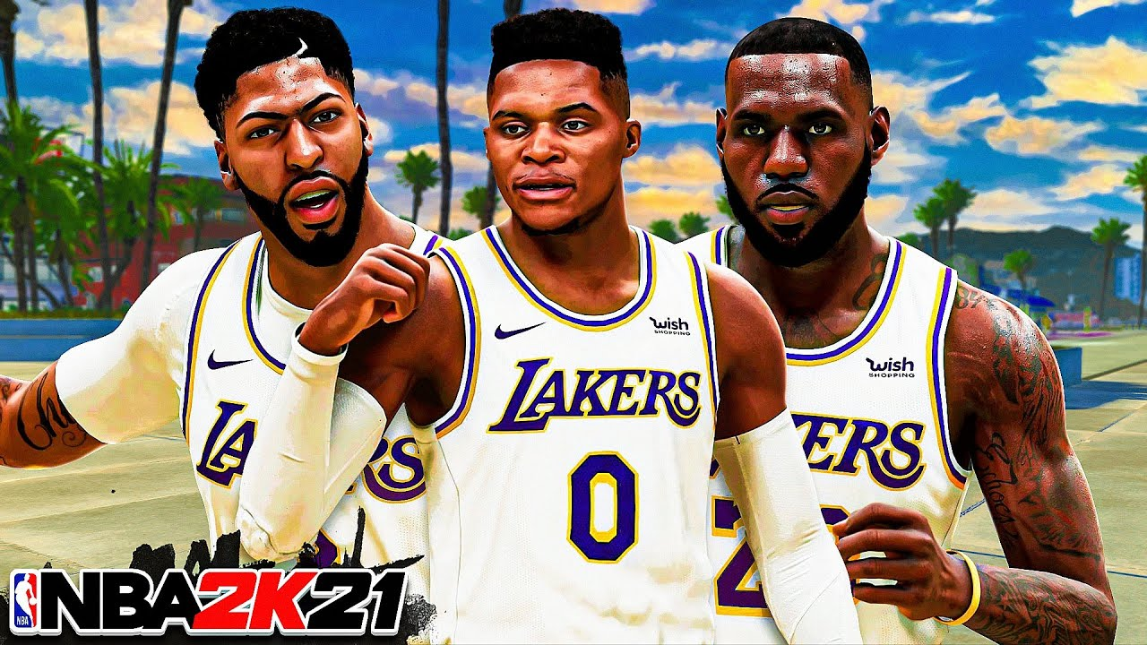 LEGEND RUSSELL WESTBROOK joins LEBRON JAMES and ANTHONY DAVIS in NBA 2K21