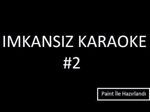 IMKANSIZ KARAOKE Çoğu İnsanın Aklına Takılan Müzik #2 (The Dø Slippery Slope)