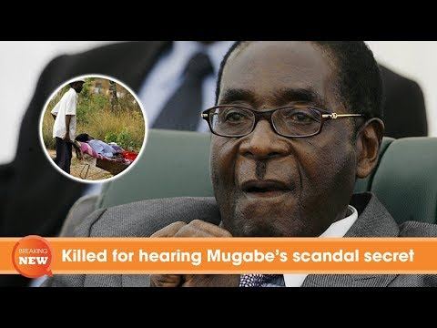 Killed for hearing Mugabe's sex secret thumbnail