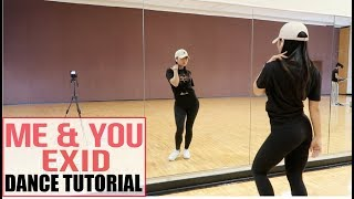 Gambar cover EXID(이엑스아이디) - 'ME&YOU' - Lisa Rhee Dance Tutorial