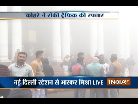 Dense Fog Hits Trains, Flights In Delhi, Mercury Dips In North India
