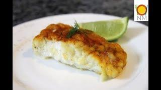 ТРЕСКА с лимонным маслом в духовке.Рыба просто тает во рту!