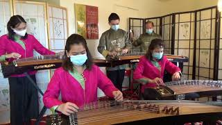 """Download 庆祝牛年, 古筝贺岁: """"喜迎牛年""""(欢乐的日子,黄昏放牛)GuZheng : Celebrate the Year of Ox"""