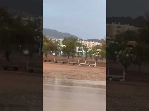 Eilat flooding 1 (Airport Authority)