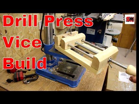 DIY Large Drill Press Vice Build/Make A Drill Press Vice