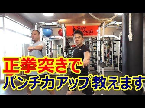 【打撃理論】正拳突きの練習で1.2倍打撃力アップする練習法で意識するポイント