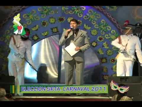 ELECCION SRTA  CARNAVAL 2011 REGION CAJAMARCA PARTE 1