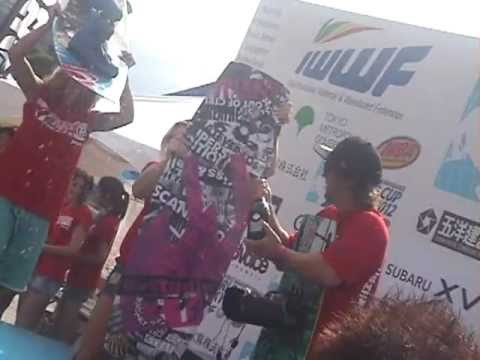IWWF CABLE WAKEBOARD WORLD CUP TOKYO 2012+MOUNTAINBOARD