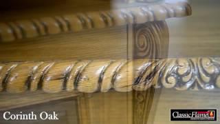 Electric fireplace Classic Flame Corinth Oak
