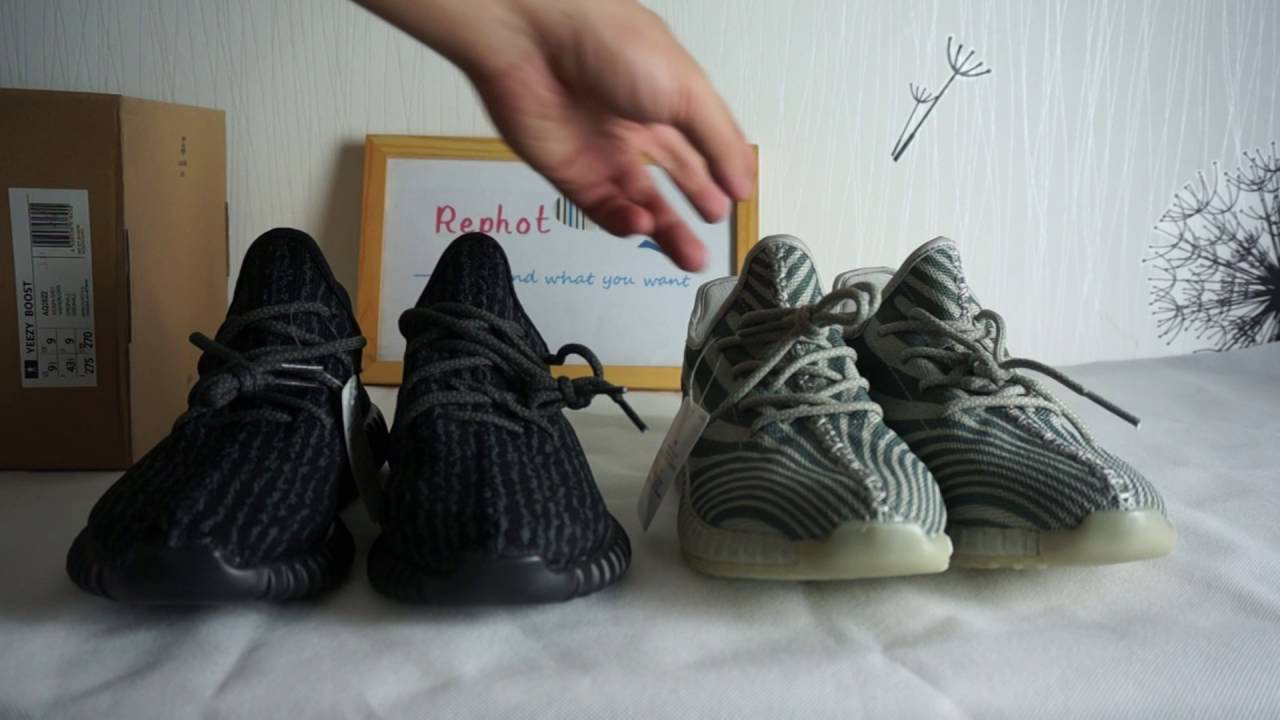finest selection 273de 38771 yeeay 350 VS yeezy 550, The replica shoes compare from rephot