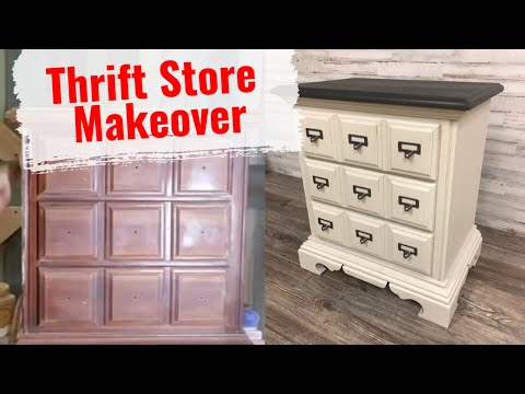 Chalk Type Paint For Beginners With Java Gel Stain Look Tutorial #chalkpaint #diypaintingfurniture