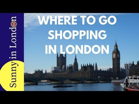 Visiting London- Beginner's Guide for Shopping in London