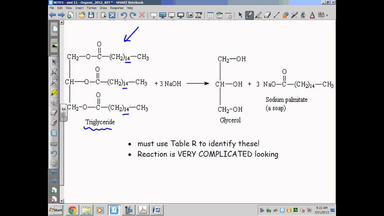 Draw The Products Of The Following Reactions