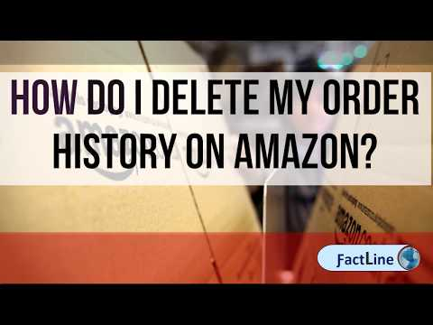 How Do I Delete My Order History On Amazon