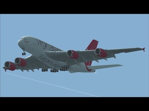 FSX A380 London to New York [AWESOME REALISM+GRAPHICS]