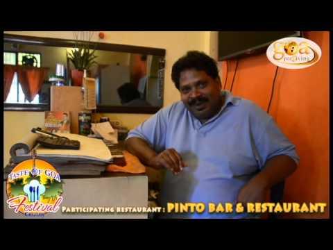 Pinto bar & restaurant- St. Inez, Panjim Goa- at TASTE OF GOA FESTIVAL