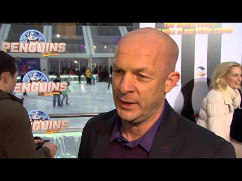 "Penguins of Madagascar: Christopher Knights ""Private"" Movie Premiere Interview"