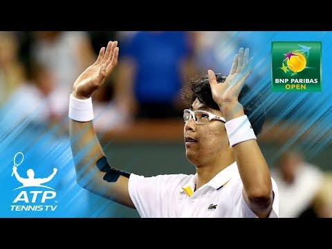 Hyeon Chung Top 5 Brilliant Shots vs Berdych | Indian Wells 2018 Second Round