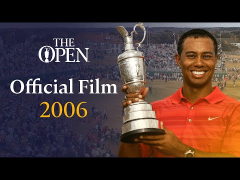 Tiger Woods wins at Royal Liverpool   The Open  Film 2006