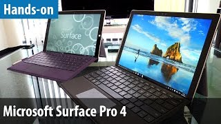 microsoft surface pro 4 hands on vergleich mit surface pro 3   deutsch german